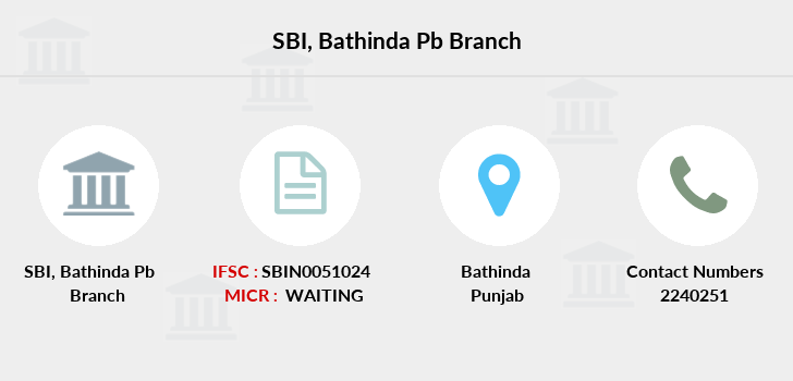 Sbi Bathinda-pb branch