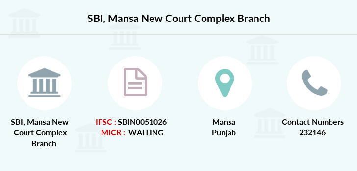 Sbi Mansa-new-court-complex branch