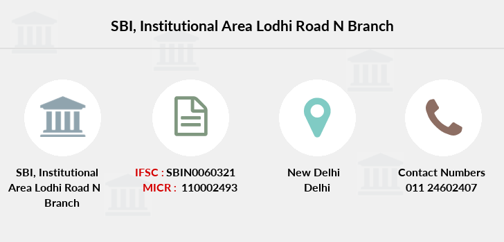 Sbi Institutional-area-lodhi-road-n branch
