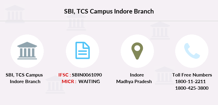 SBI TCS Campus Indore IFSC Code SBIN0061090