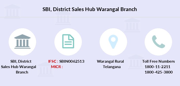 Sbi District-sales-hub-warangal branch