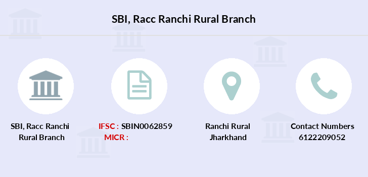Sbi Racc-ranchi-rural branch