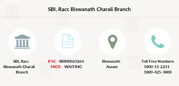 Sbi Racc-biswanath-charali branch