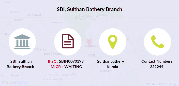 Sbi Sulthan-bathery branch