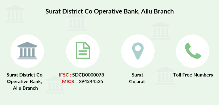 Surat-district-co-op-bank Allu branch