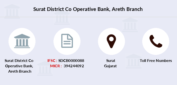 Surat-district-co-op-bank Areth branch