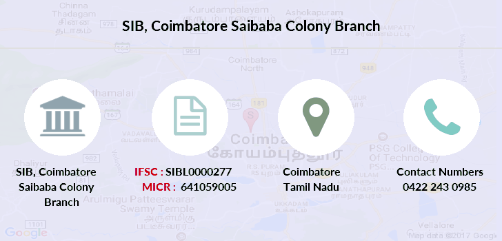 indian bank branches in coimbatore