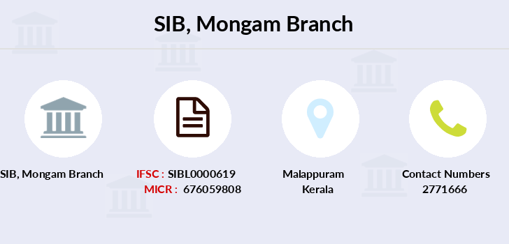 South-indian-bank Mongam branch