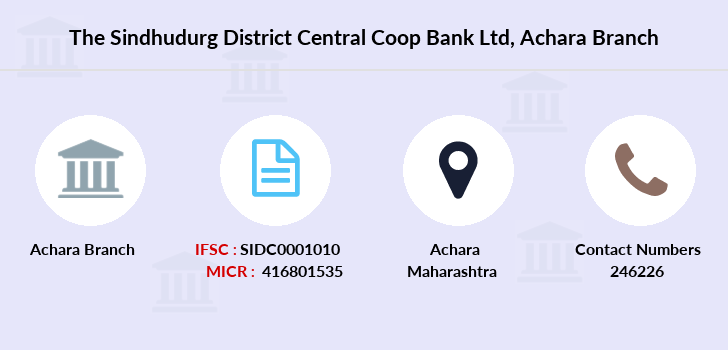 The-sindhudurg-district-central-coop-bank-ltd Achara branch