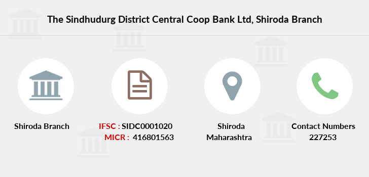 The-sindhudurg-district-central-coop-bank-ltd Shiroda branch