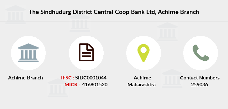 The-sindhudurg-district-central-coop-bank-ltd Achirne branch