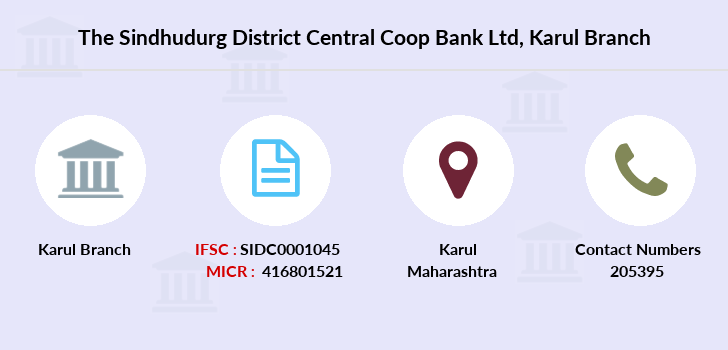 The-sindhudurg-district-central-coop-bank-ltd Karul branch