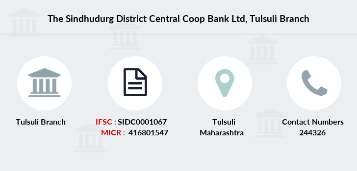 The-sindhudurg-district-central-coop-bank-ltd Tulsuli branch