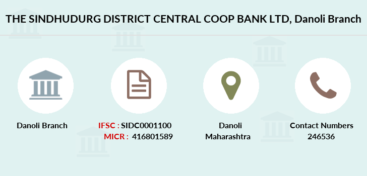 The-sindhudurg-district-central-coop-bank-ltd Danoli branch