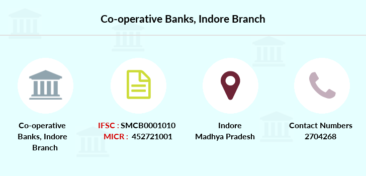 Co-operative-banks Indore branch