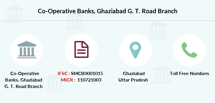 Co-operative-banks Ghaziabad-g-t-road branch