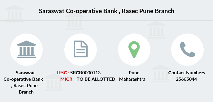 Saraswat-co-op-bank Rasec-pune branch