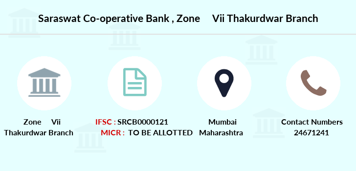 Saraswat-co-op-bank Zone-vii-thakurdwar branch
