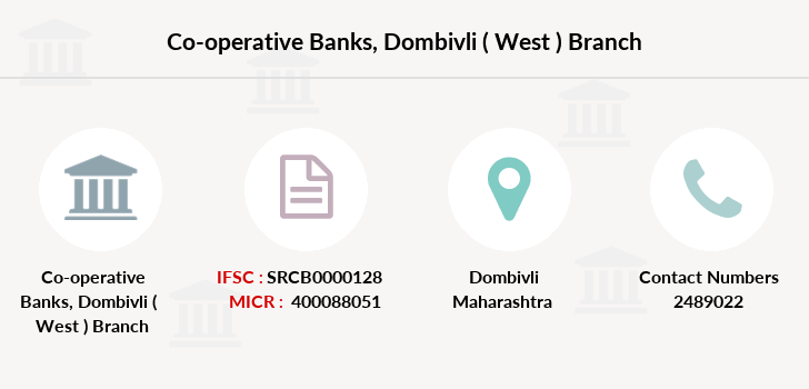Co-operative-banks Dombivli-west branch