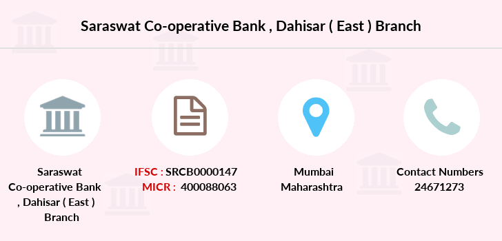 Saraswat-co-op-bank Dahisar-east branch