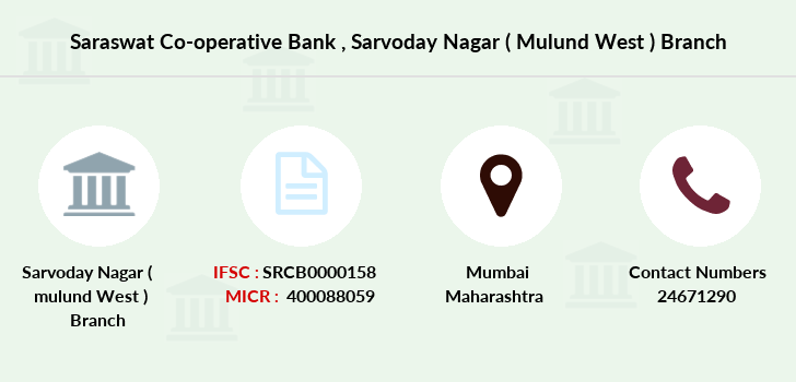 Saraswat-co-op-bank Sarvoday-nagar-mulund-west branch