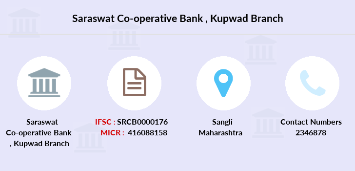 Saraswat-co-op-bank Kupwad branch