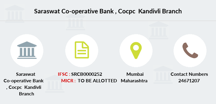 Saraswat-co-op-bank Cocpc-kandivli branch
