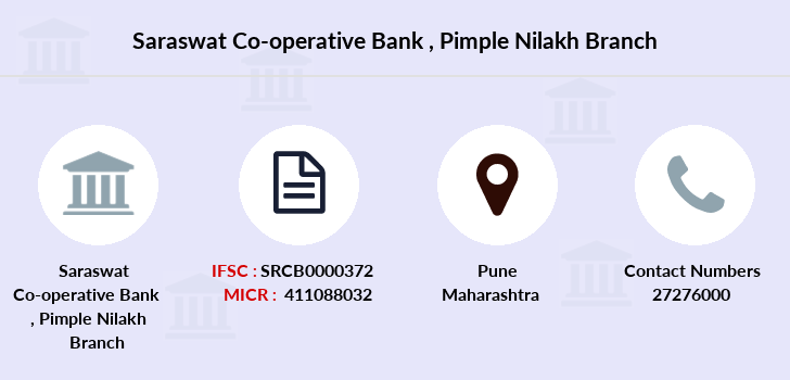 Saraswat-co-op-bank Pimple-nilakh branch