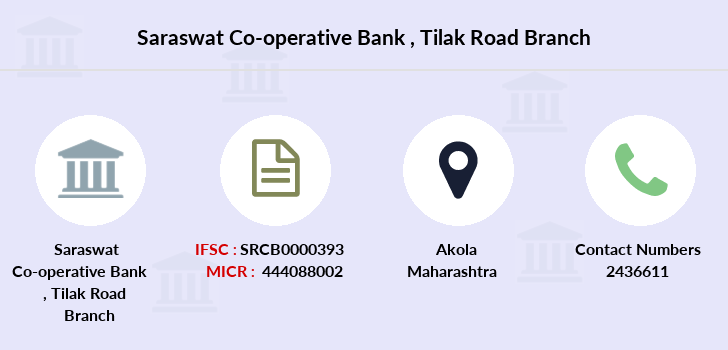 Saraswat-co-op-bank Tilak-road branch