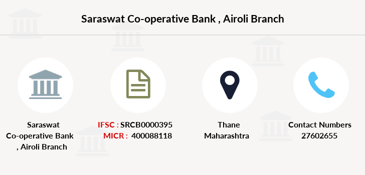 Saraswat-co-op-bank Airoli branch
