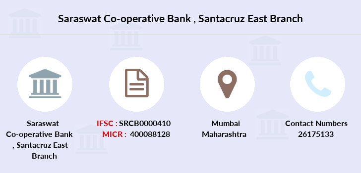 Saraswat-co-op-bank Santacruz-east branch