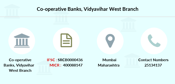 Co-operative-banks Vidyavihar-west branch