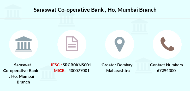 Saraswat-co-op-bank Ho-mumbai branch