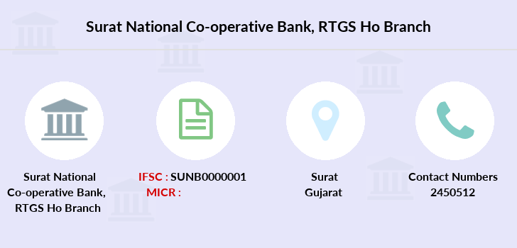 Surat-national-co-operative-bank Rtgs-ho branch
