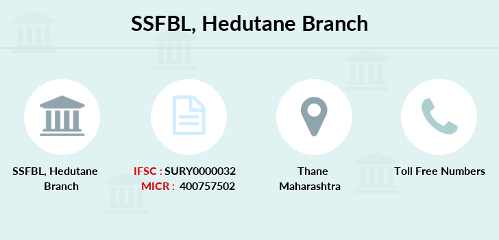 Suryoday-small-finance-bank-limited Hedutane branch