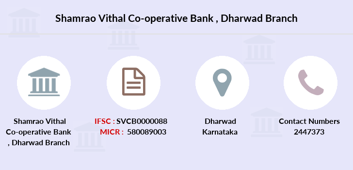 Shamrao-vithal-co-op-bank Dharwad branch