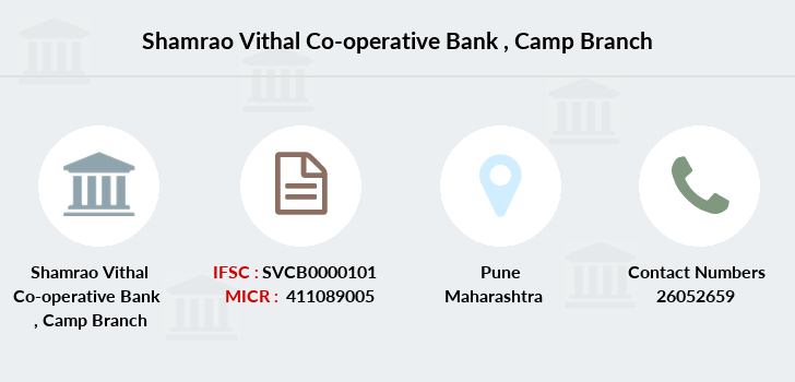 Shamrao-vithal-co-op-bank Camp branch