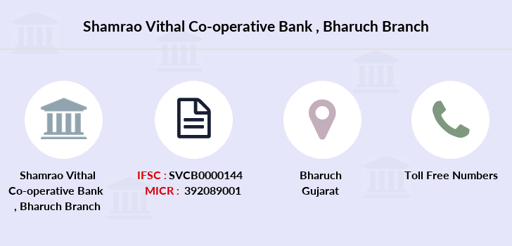 Shamrao-vithal-co-op-bank Bharuch branch