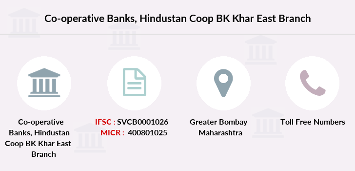 Co-operative-banks Hindustan-coop-bk-khar-east branch