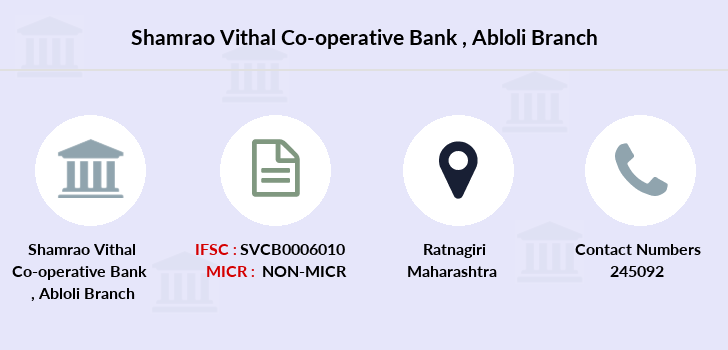 Shamrao-vithal-co-op-bank Abloli branch
