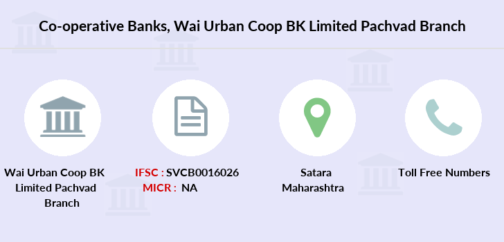 Co-operative-banks Wai-urban-coop-bk-limited-pachvad branch