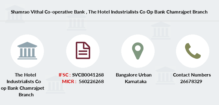 Shamrao-vithal-co-op-bank The-hotel-industrialists-co-op-bank-chamrajpet branch