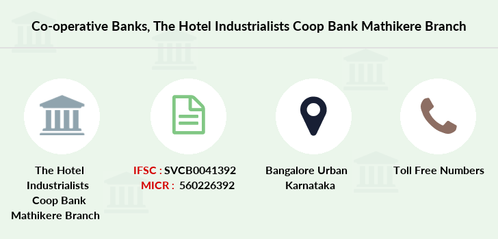 Co-operative-banks The-hotel-industrialists-coop-bank-mathikere branch