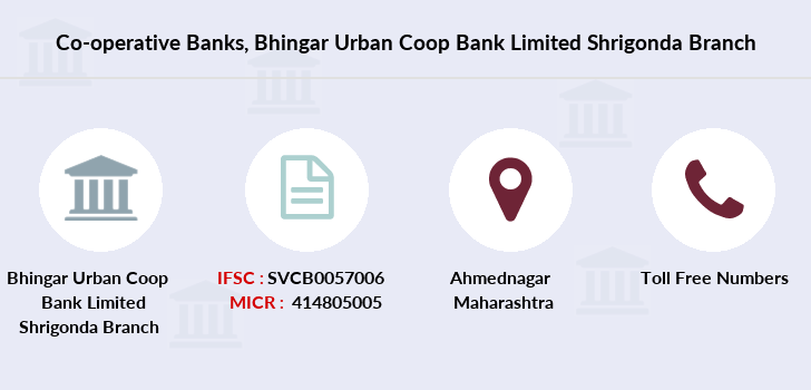 Co-operative-banks Bhingar-urban-coop-bank-limited-shrigonda branch