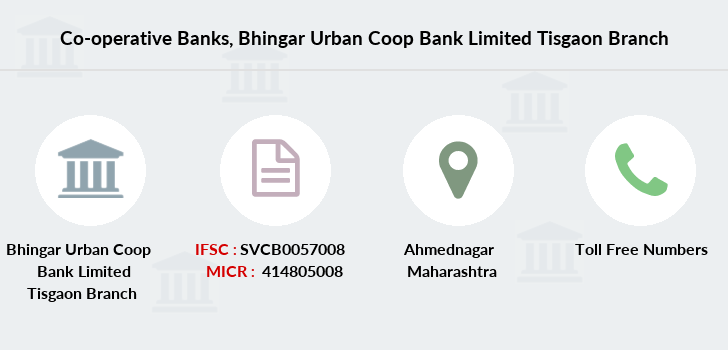 Co-operative-banks Bhingar-urban-coop-bank-limited-tisgaon branch