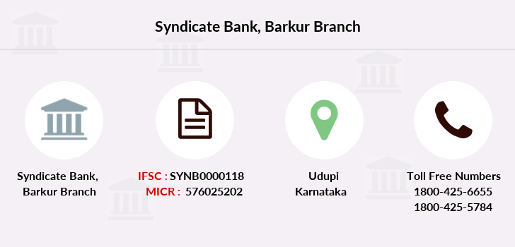 Syndicate-bank Barkur branch