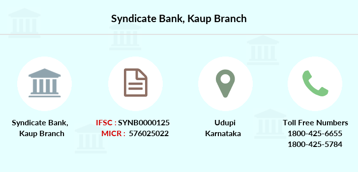 Syndicate-bank Kaup branch