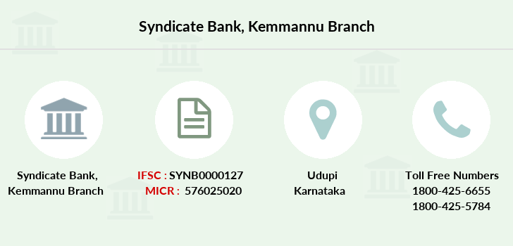 Syndicate-bank Kemmannu branch