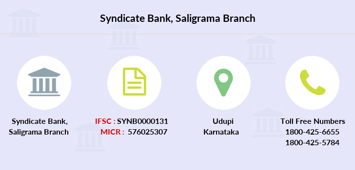 Syndicate-bank Saligrama branch