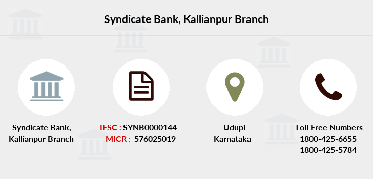 Syndicate-bank Kallianpur branch